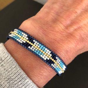 Azul blue bracelet